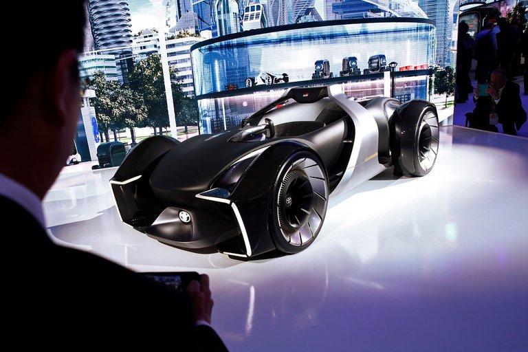 Transporte de vehículos prototipos