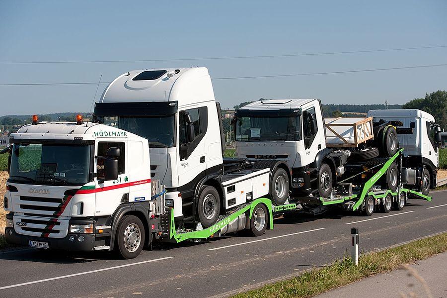 Transporte de vehículos Industriales y camiones